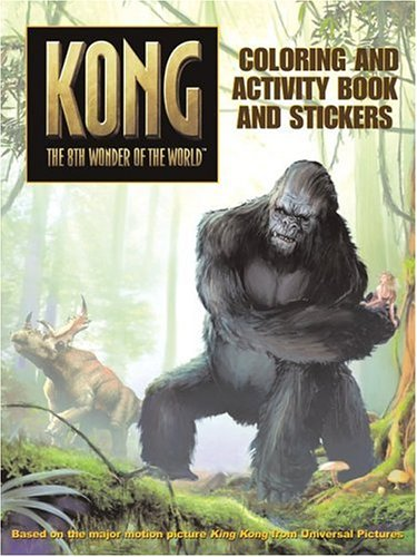 9780060773069: King Kong: Coloring and Activity Book and Stickers (Kong: The 8th Wonder of the World)