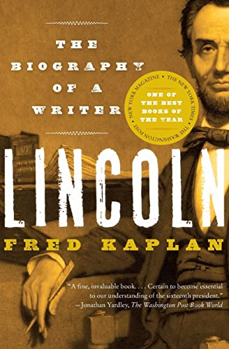 9780060773366: Lincoln: The Biography of a Writer