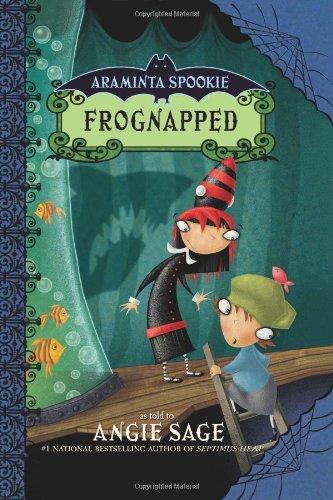 9780060774875: Frognapped (Araminta Spookie 3)