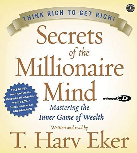 9780060776572: Secrets of the Millionaire Mind CD: Mastering the Inner Game of Wealth