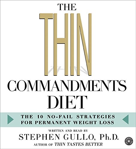 9780060781552: The Thin Commandments Diet CD: The Ten No-Fail Strategies for Permanent Weight Loss