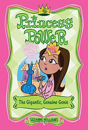 9780060783082: The Gigantic, Genuine Genie (Princess Power, No. 6)