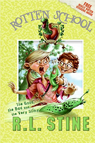 9780060785925: The Good, the Bad and the Very Slimy [With Stickers] (Rotten School)