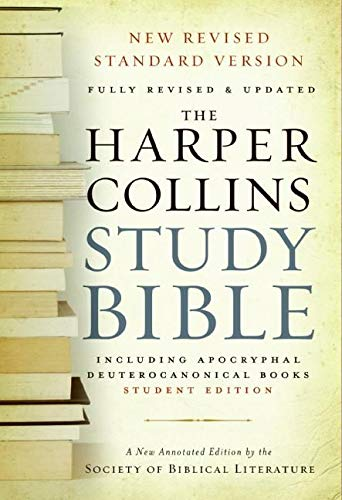 9780060786847: The Harpercollins Study Bible: New Revised Standard Version, With the Apocryphal/Deuterocanonical Books: Fully Revised Student Edition