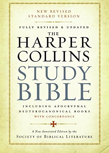 9780060786854: Harper Collins Study Bible