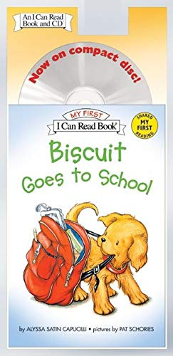 9780060786861: Biscuit Goes to School Book and CD (My First I Can Read)
