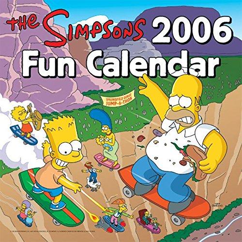9780060786908: The Simpsons 2006 Fun Calendar