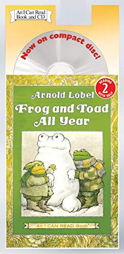 9780060786984: Frog and Toad All Year Book and CD (I Can Read Level 2)