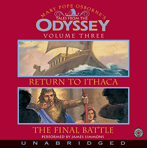 9780060787134: Tales From the Odyssey #3 CD