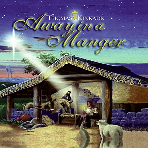 9780060787356: Away in a Manger (Thomas Kinkade)