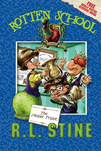9780060788148: The Heinie Prize [With Stickers] (Rotten School)