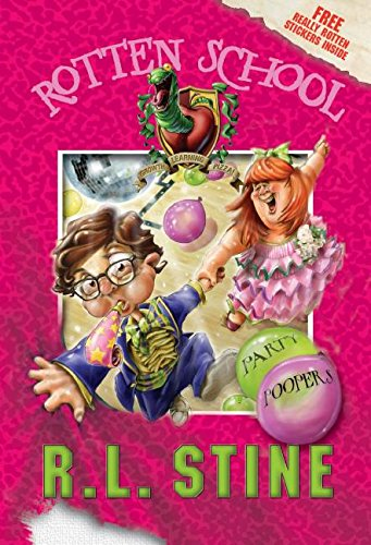 9780060788247: Party Poopers (Rotten School, No. 9)