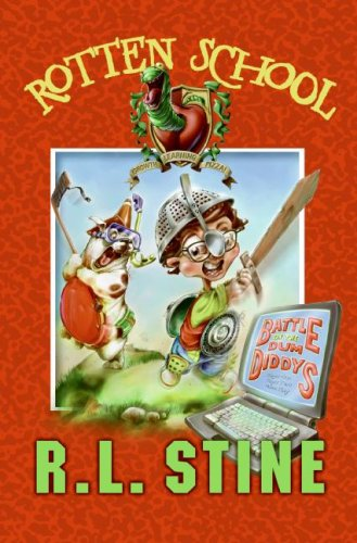 9780060788339: Battle of the Dum Diddys (Rotten School, No. 12)