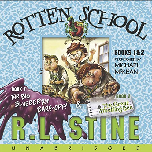 9780060788834: The Rotten School #1 and #2 CD