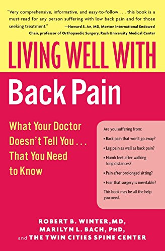 9780060792275: Living Well with Back Pain: What Your Doctor Doesn't Tell You...That You Need to Know (Living Well (Collins))