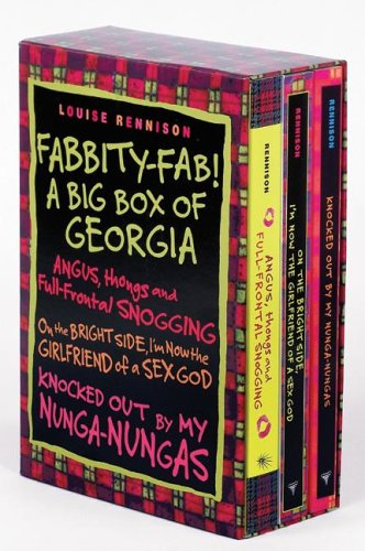 9780060797249: Fabbity-Fab! A Big Box of Georgia (Confessions of Georgia Nicolson)- On the Bright Side, I'm Now the Girlfriend of a Sex God / Knocked Out by My Nunga-Nungas / Angus, Thongs and Full-Frontal Snogging