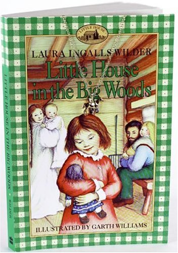 9780060797508: Little House in the Big Woods Book and Charm (Little House the Laura Years)