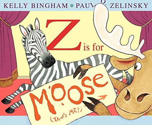 9780060799847: Z Is for Moose (Booklist Editor's Choice. Books for Youth (Awards))