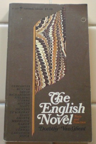 9780060801175: The English Novel: Form and Function