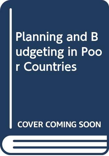 9780060802134: Planning and Budgeting in Poor Countries