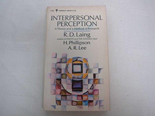 9780060802356: Interpersonal Perception