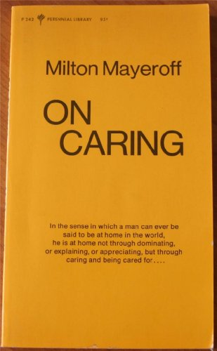 9780060802424: On Caring (Perennial Library)