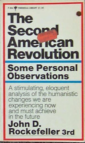9780060803247: The Second American Revolution: Some Personal Observations