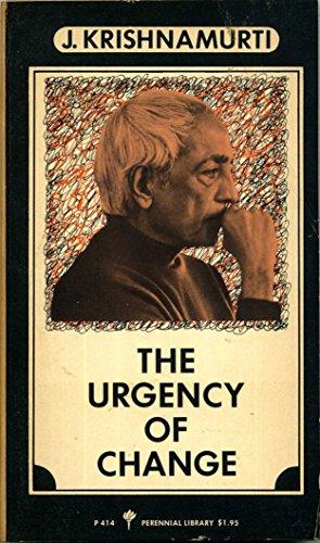9780060804145: Urgency of Change