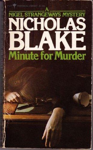 9780060804190: Minute for Murder: A Nigel Strangeways Mystery
