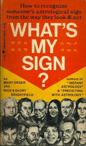 9780060804343: What's my sign? (Perennial Library ; P 434)