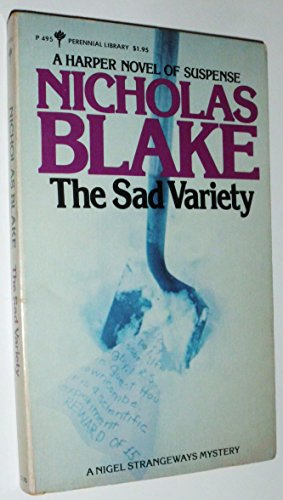 9780060804954: The Sad Variety