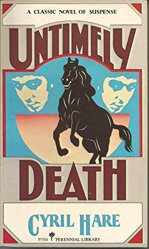 9780060805142: Untimely Death