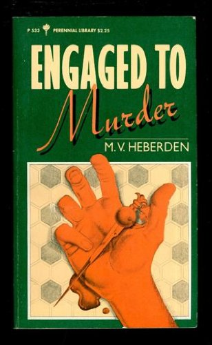 9780060805333: Engaged to Murder