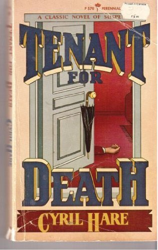 9780060805708: Tenant for Death/an Inspector Mallett Mystery