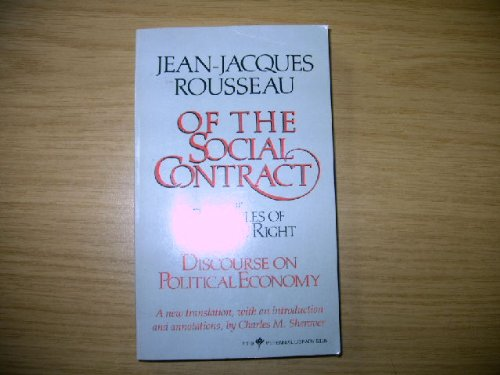 Social Contract (English and French Edition): Jean-Jacques Rousseau