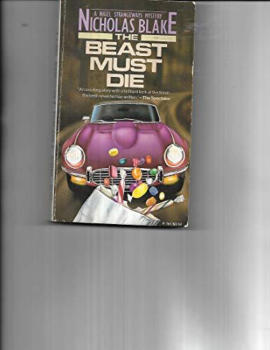 9780060807818: The Beast Must Die