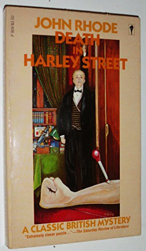 9780060808099: Death in Harley Street (Perennial Mystery Library)