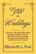 9780060808129: Emily Post on Weddings