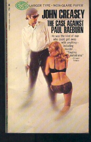 9780060808921: The Case Against Paul Raeburn/ (English Title = Triumph for Inspector West)