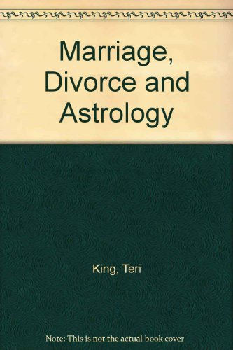 9780060809065: Marriage, Divorce and Astrology