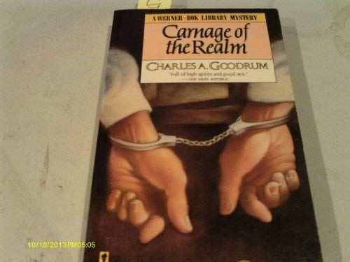 9780060809324: Carnage of the Realm (A Werner-Bok Library Mystery)