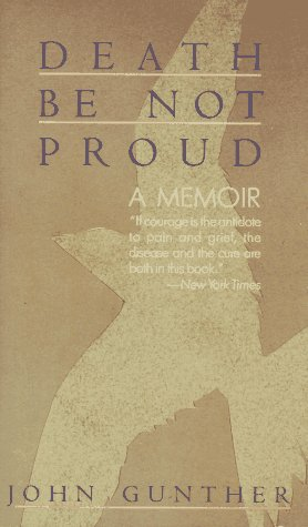 9780060809737: Death Be Not Proud: A Memoir
