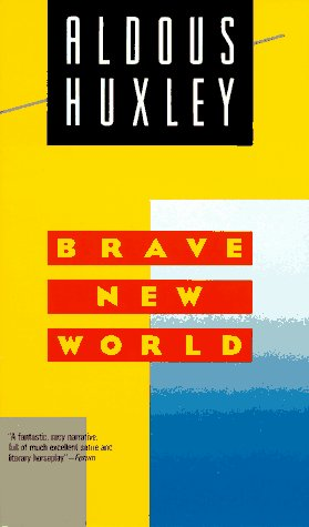 the authors opinion on the world state portrayed in brave new world a novel by aldous huxley View images from this item (1) information description aldous huxley's novel  brave new world was published in 1932 by chatto  the government described  by huxley is presented as a 'benevolent' regime,  mike ashley describes how  20th-century writers dreamed up new and better worlds in their fiction – while at  the.