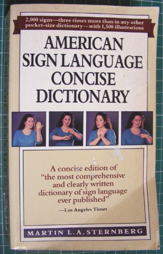 9780060809966: American Sign Language Concise Dictionary