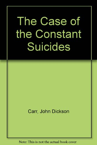 9780060810160: The Case of the Constant Suicides