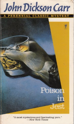 9780060810306: Poison in Jest: A Perennial Classic Mystery
