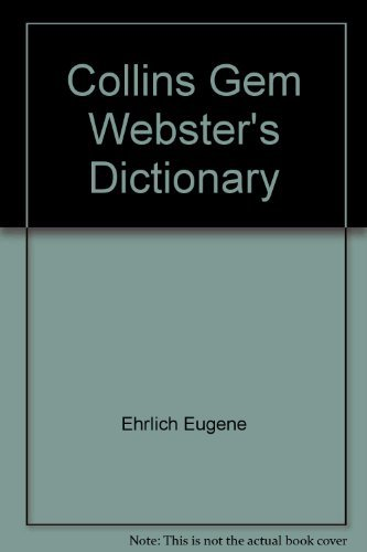 9780060812003: Collins Gem Webster's Dictionary