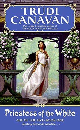 9780060815707: Priestess of the White (Age of the Five Trilogy, Book 1)