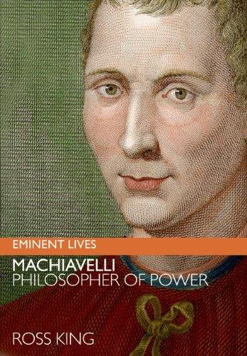 9780060817176: Machiavelli: Philosopher of Power (Eminent Lives)