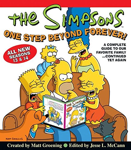 9780060817541: The Simpsons One Step Beyond Forever: A Complete Guide to Our Favorite Family...Continued Yet Again (Simpsons Comic Compilations)